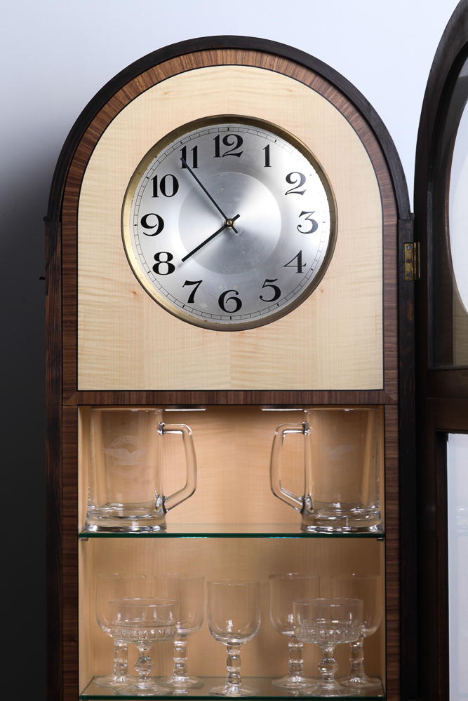 drinks cabinet clock jmw furniture
