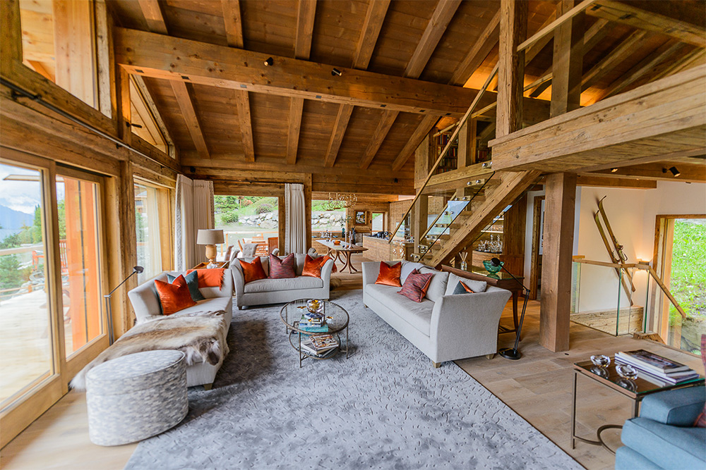 verbier chalet project jmw furniture